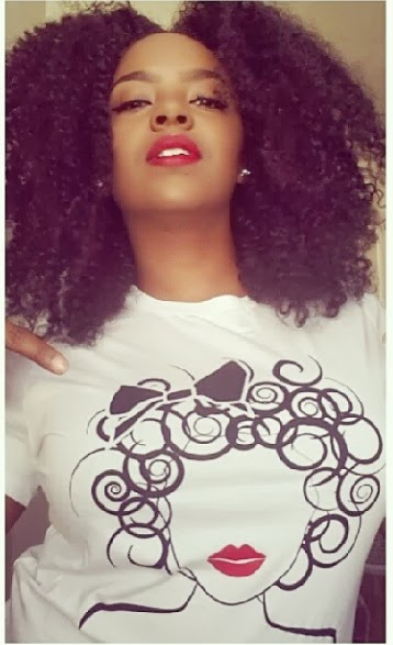 global couture curly girl tee