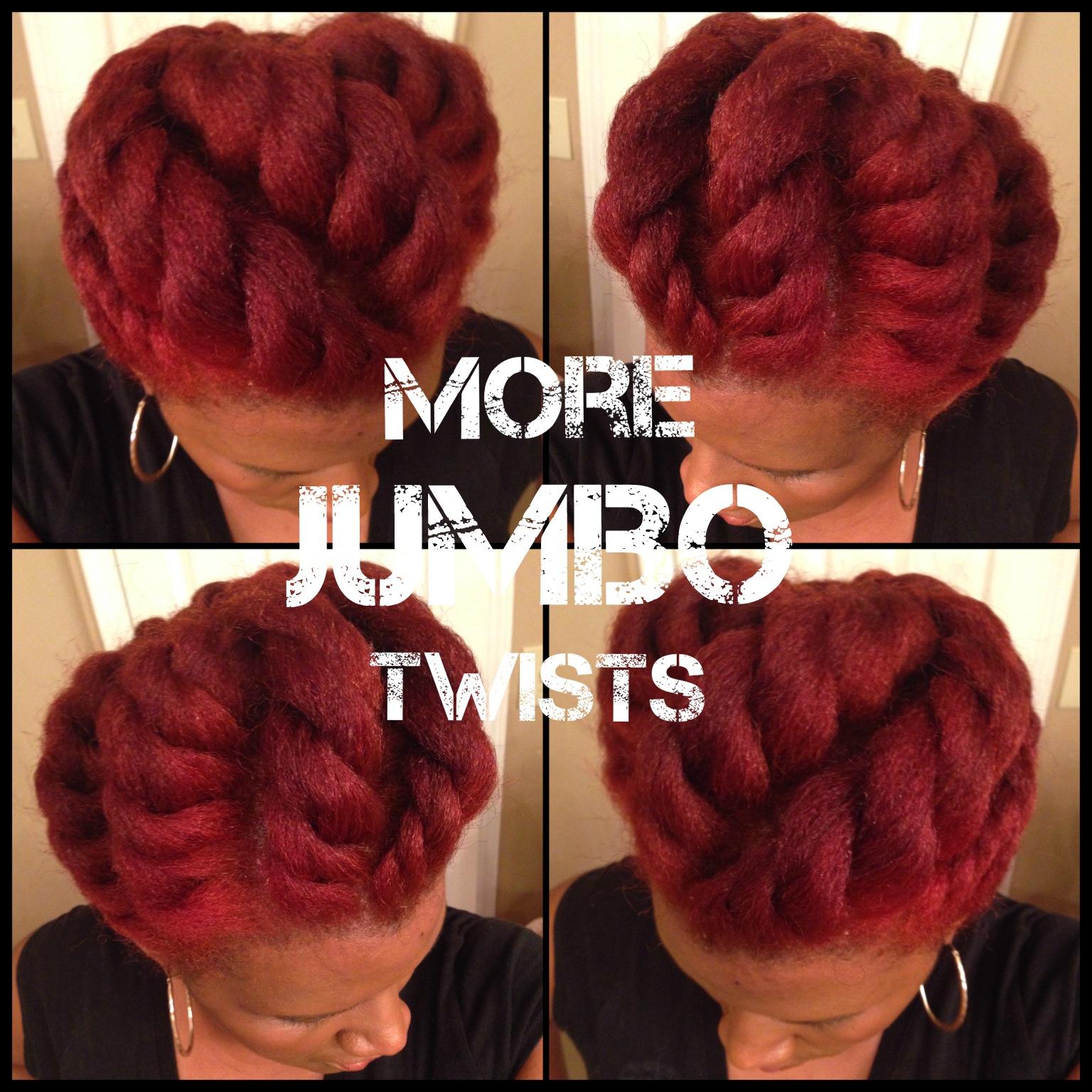 Jumbo Flat Twist Updo