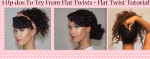 Video: 3 Quick & Easy Updo's
