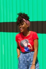 Naturally Stylish: Cyn in the Naturally Revolutionary tee