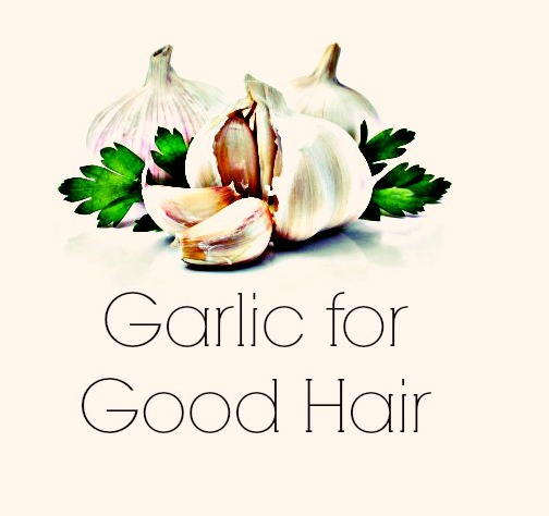 using garlic for natural hair