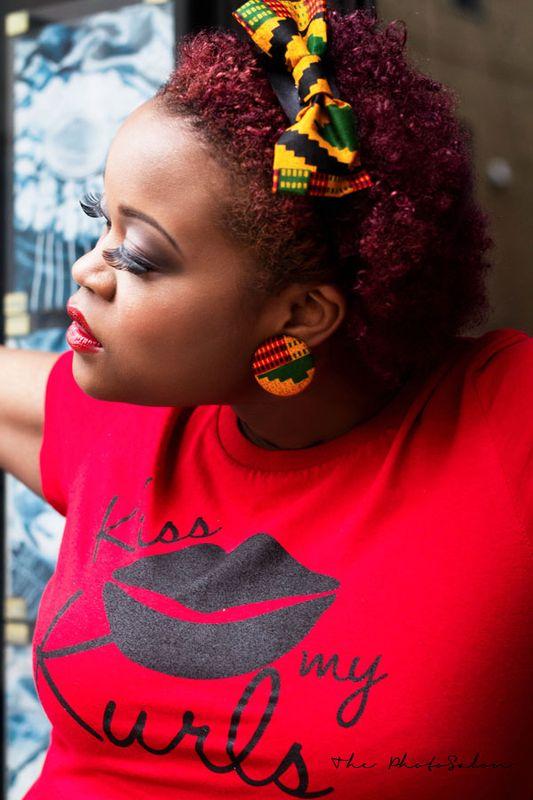kiss my curls kente set copyright symbol