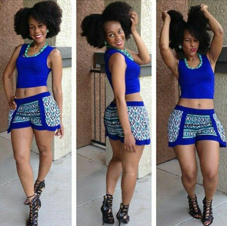 """Rasheta- """"If I could go back, I would have big chopped and gotten it over with!"""""""