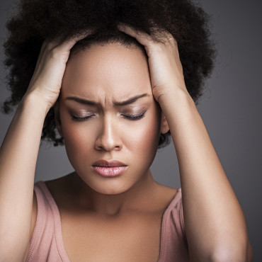 Frustrated-woman-with-natural-hair