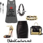 Outfit of the Week: Stay Calm Im Just Natural