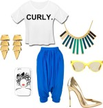 Outfit of the Week: Curly Chic