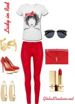 Style Inspiration: Lady in Red