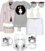 Outfit of the Week: Pretty in Pink