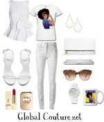 Style Inspiration: White Party
