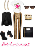 Outfit of the Week: Golden Girl