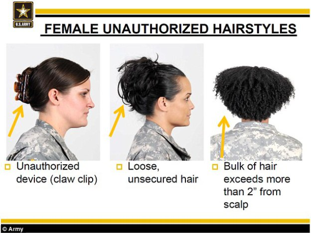 What Do The Recent Military Regulations On Hair And Slavery Have In