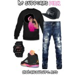 Style Inspiration: He Supports Pink