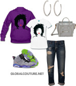 Outfit of the Week: Locs & Lipstick
