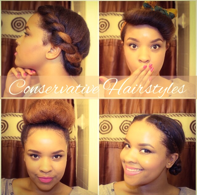 updos Conservative Hairstyles for Church uncategorized natural hair ...