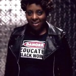 Ledisi wearing Danger Educated Black Woman
