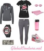 Style Inspiration: Kinky Girls Workout