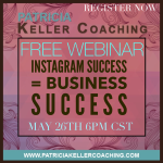 Sign up for my FREE Webinar