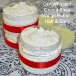 DIY Whipped Cocoa Shea Mango Butter – Hair & Body