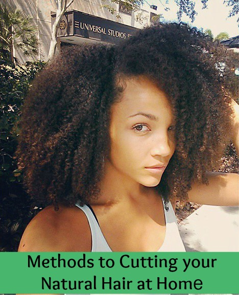Methods To Cutting Your Natural Hair At Home Global Couture Blog