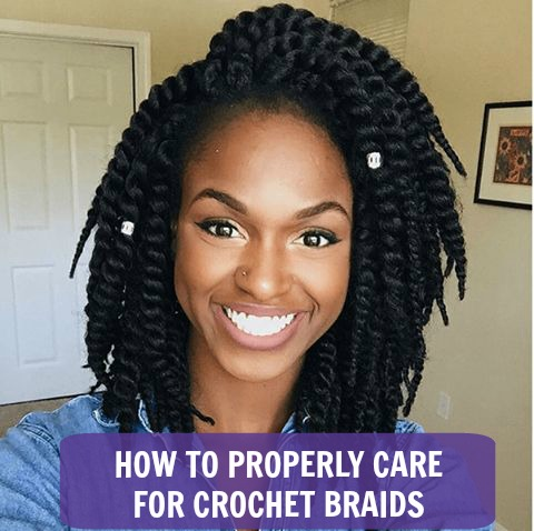 Crochet Hair Upkeep : HOW TO PROPERLY CARE FOR CROCHET BRAIDS Global Couture Blog