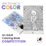 We Travel in Color: Adult Coloring Book giveaway!!!